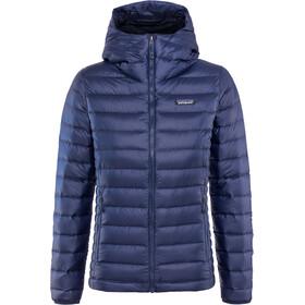 Patagonia Down Sweater Veste à capuche Femme, bleu